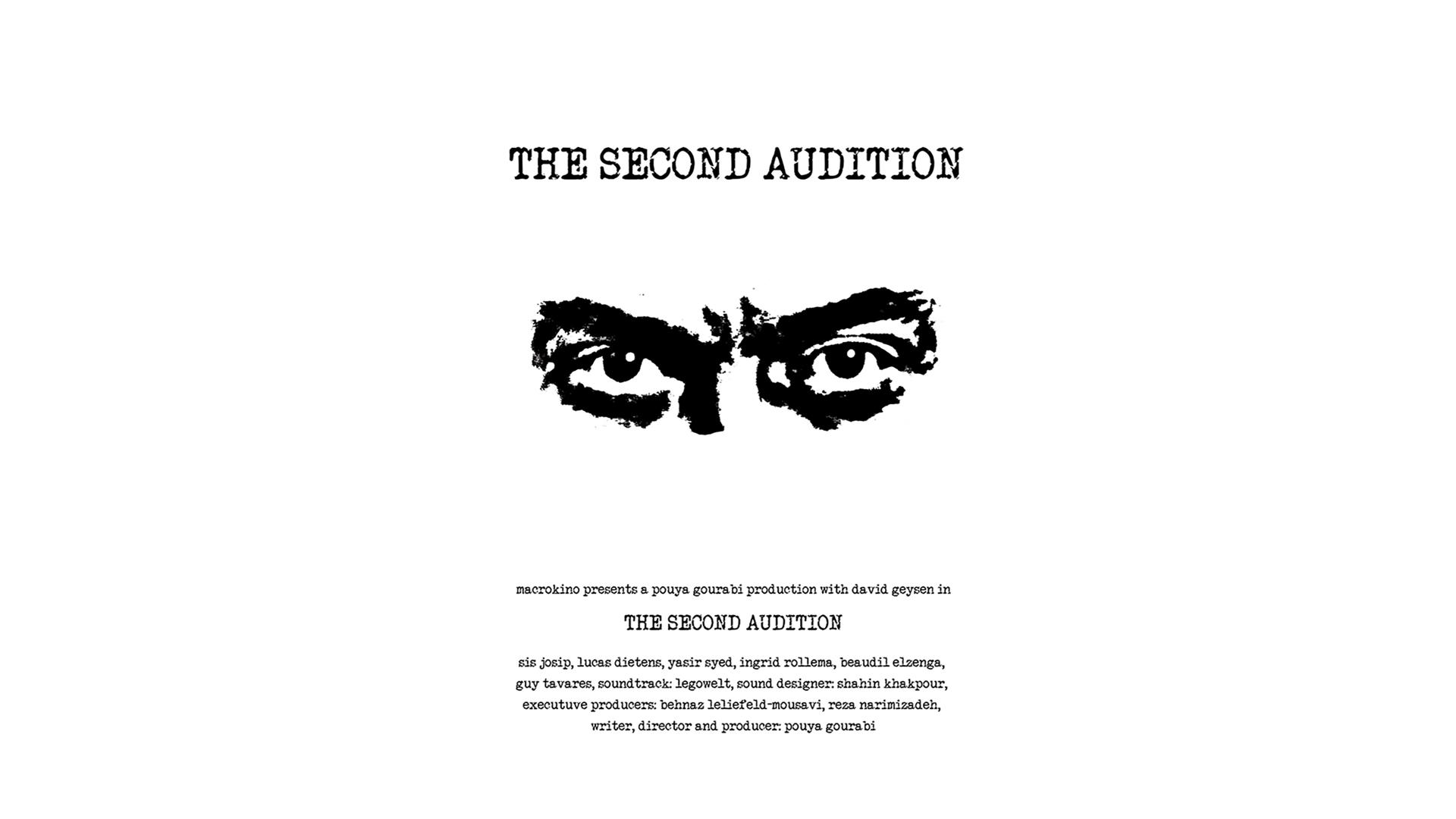 THE SECOND AUDITION