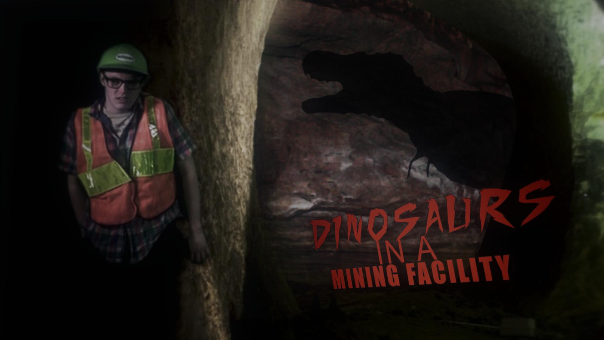 Dinosaurs In A Mining Facility